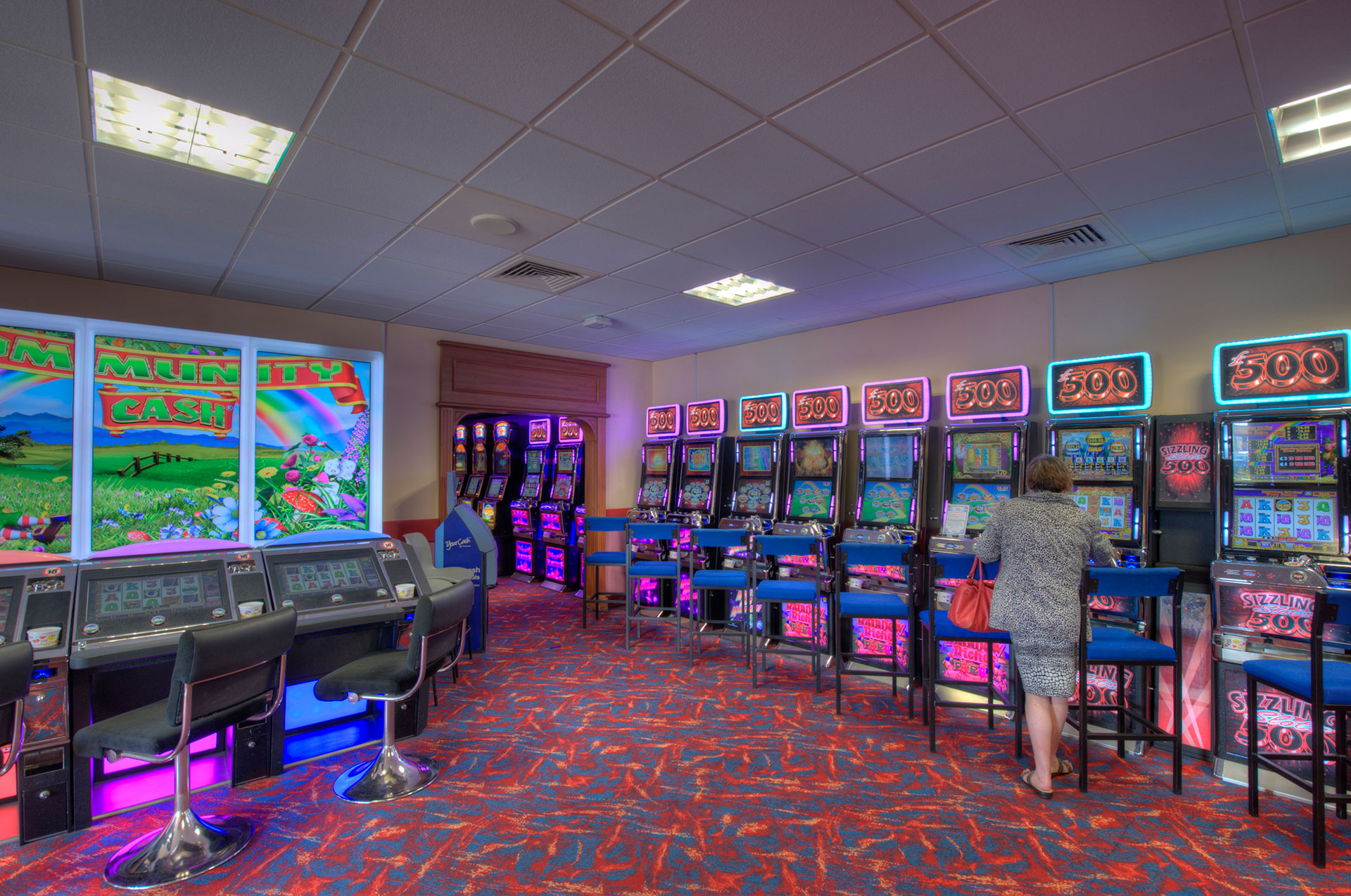 Majestic Bingo arcade room