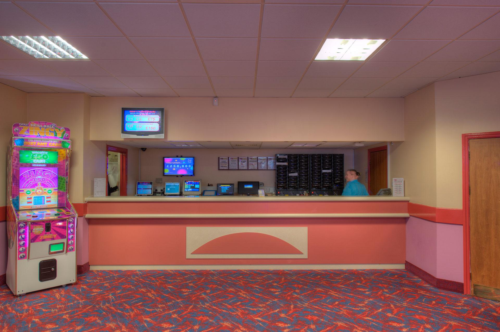 Majestic Bingo reception area